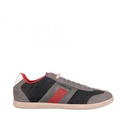 Pantofi sport Diesel gri, din material sintetic