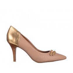 Pantofi Epica bej, din piele naturala