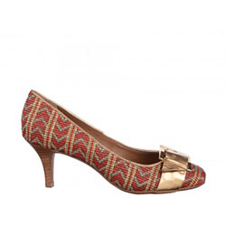 Pantofi Epica rosii, din material sintetic